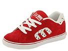 etnies Kids - Kids Calli-Vulc (Toddler/Youth) (Red/White) - Kids' Footwear
