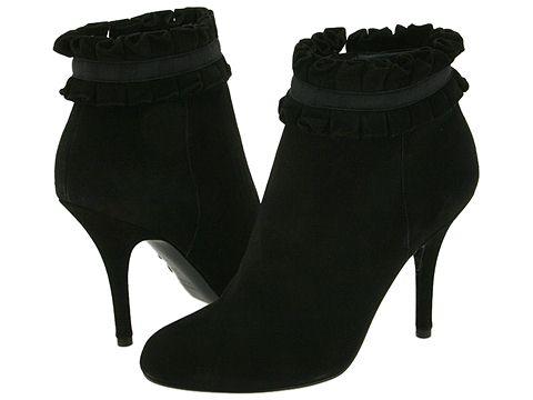 Sergio Rossi Dalila Nero Suede - Footwear