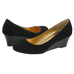 Dolce Vita Bridges 4 (Black Kid Suede) - Shoes :  suede round toe kid suede shoes