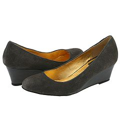 Dolce Vita Bridges 4 (Graphite) - Shoes :  suede wedge zappos dolce vita