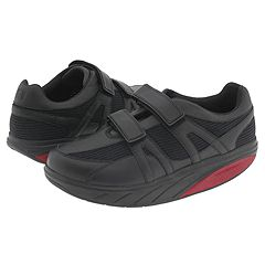 MBT - Voi (Black Leather/Mesh) - Footwear