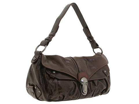 Francesco Biasia - Hip Colette- East/West Flap (Coffee) - Handbags