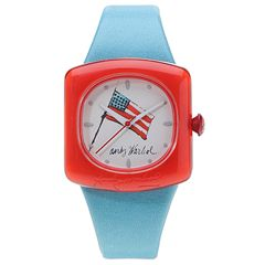 Andy Warhol 15 Watch Collection - Ice Cream Dessert (Red, White And Blue) - Jewelry