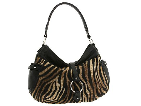 Donald J Pliner - Bombay (Tiger Print Crepe) - Handbags