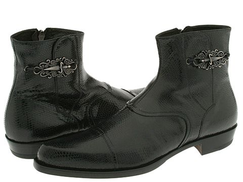 Cesare Paciotti 23205-Rockabilly-Cuoio Kid Black - Footwear