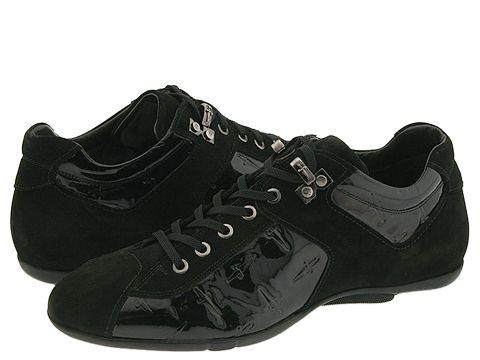 Cesare Paciotti 23605L-W-Ibra Gomma Vern Black - Footwear