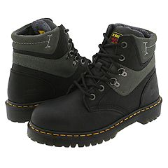 Dr. Martens - New Icon 6 Tie Boots (Black/Charcoal)