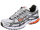 Nike - Air Pegasus+ 2007 (White/Orange Blaze/Metallic Silver) - Men's