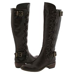 Type Z Lavonna (Brown) - Motorcycle Casual Boots