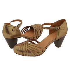 Frye Lisa Maryjane (Gold) - Women's from zappos.com
