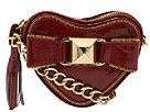 Betsey Johnson - Loop De Loop Cross Body Heart (Red Patent) - Bags and Luggage