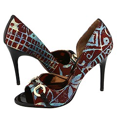 CARLOS by Carlos Santana Roulette (Blue Candango) - High Heel Dress Shoes :  roulette blue heel dress shoes