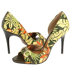 CARLOS by Carlos Santana Roulette (Green Savage) - High Heel Dress Shoes