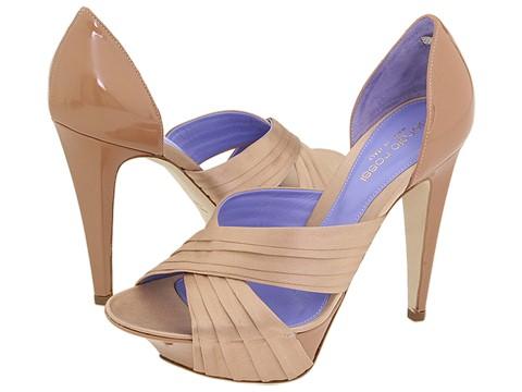 Sergio Rossi - Ecos-AT6489 (Nude/Suede) - Footwear