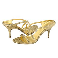 Donna Karan 883738 (Gold Asphalt Kid) - Evening/Special Occasion Dress Sandals :  donna 883738 dress sandals