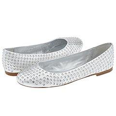 Pelle Moda - Glyn (Silver Metallic Kid) - Footwear