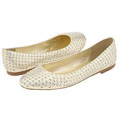 Pelle Moda - Glyn (Platinum Gold Metallic Kid) - Footwear