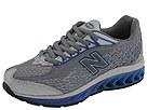 New Balance Kids - K8508GRG (Youth) (Grey/Royal) - Footwear