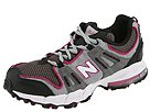 New Balance Kids - KJ811GPG (Youth) (Grey/Fushia) - Footwear