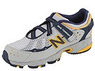 New Balance Kids - KV608NYP (Toddler/Youth) (Navy/Yellow/Grey) - Footwear