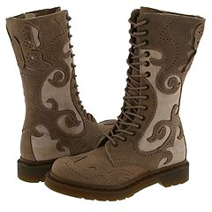 Dr. Martens Adina 14 Eye Boot 1B99 (Taupe/Pergameria) - Women's :  boot shoe wear