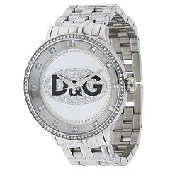 D&G Dolce & Gabbana - Prime Time Full Sized (Silver) - Jewelry