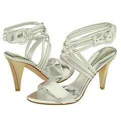 Kenneth Cole New York Jazzed Out (Silver) - Strappy Dress Sandals :  strappy york straps heels