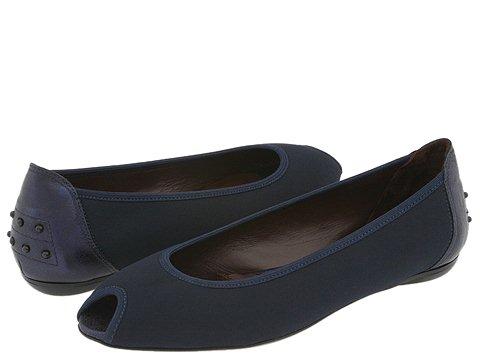 Donald J Pliner - Group (Navy Crepe Elastic/Navy Antique Metallic) - Footwear