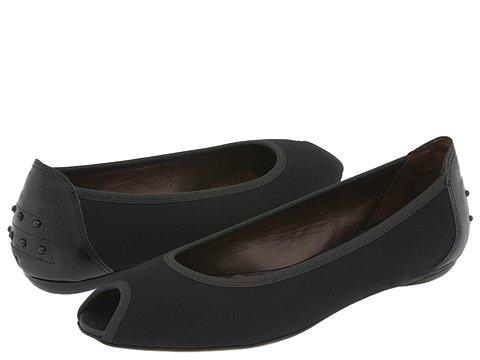 Donald J Pliner - Group (Black Crepe Elastic/Black Antique Metallic) - Footwear