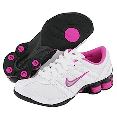 Nike - Nike Shox Electro (White/Metallic Zinc-Bright Fuschia-Black) - Footwear