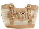 Stuart Weitzman - Basket (Raffia Cord W/Oasis Metal Madras) - Bags and Luggage