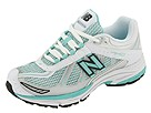 New Balance - WR740 (White/Green) - Footwear