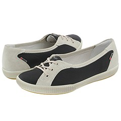 ECCO - Summer Zone Petite Tie (Black / White) - Footwear