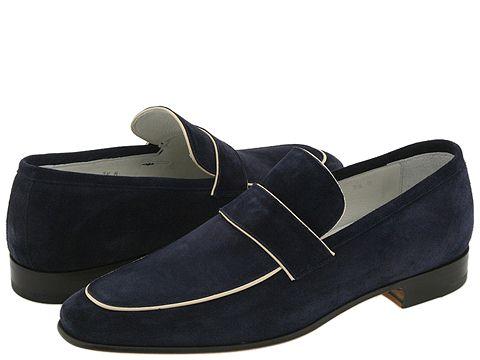 BRUNOMAGLI - Micino (Navy Suede) - Footwear