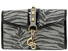 Betsey Johnson - Catwalk Small Flap Clutch (Grey) - Bags and Luggage