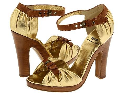 Moschino CA1670 Bcon Eso Platinum - Footwear