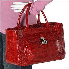 Furla Handbags - Eurice Medium Shopper (Geranio) - Bags and Luggage