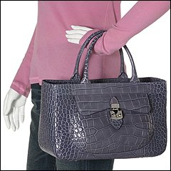 Furla Handbags - Eurice Medium Shopper (Ortensia) - Bags and Luggage