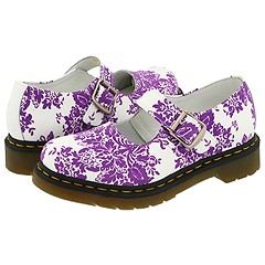 Dr. Martens - 5026 Mary Jane (White/Lilac)