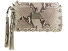 MICHAEL Michael Kors - Astor Grommet Python Clutch (Natural (260)) - Bags and Luggage