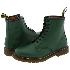 Dr. Martens - 1460 (Green Smooth) Boots
