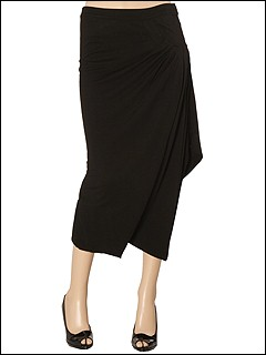 Linda Loudermilk Diversion Skirt (Black) - Women's