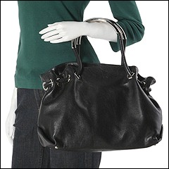 Furla Handbags - Carmen Large Shopper (Onyx) - Bags and Luggage