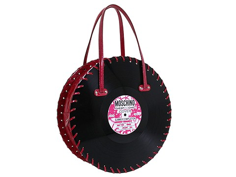 Moschino Borsa Tracolla Record Bag Strawberry - Bags and Luggage