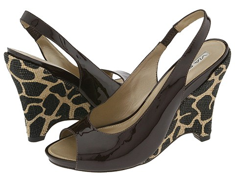 Via Spiga - Taunt (Brown Patent/Giraffe) - Footwear