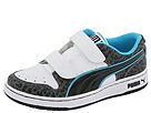 Puma Kids - Unlimited Lo V (Toddler/Youth) (Limestone/White/Blue Canal) - Footwear