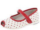 Primigi Kids - Rossana (Toddler) (White/Red) - Kids' Shoes
