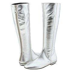 Juicy Couture Ezra (Silver Metallic Nappa) - Dress Boots