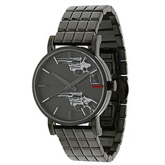 Andy Warhol 15 Watch Collection - Fragile Existence (Black/Guns) - Jewelry