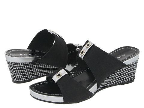 Amalfi by Rangoni - Twain (Black Elastic Combo) - Footwear